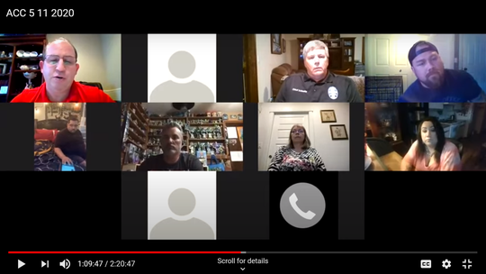 Since the COVID-19 pandemic, the Aumsville City Council has held its meetings online for the first time, and it led to Mayor Derek Clevenger calling for a councilor resignation.