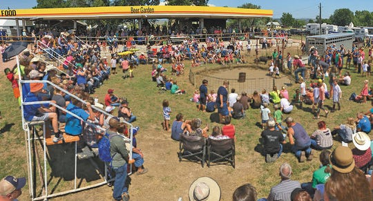 Big crowds show up to the Fall River County Fair every summer to participate in and watch events like the hog-wrestling competition. The fair was cancelled this year due to the COVID-19 pandemic, causing a loss of revenue and revelry in Edgemont.