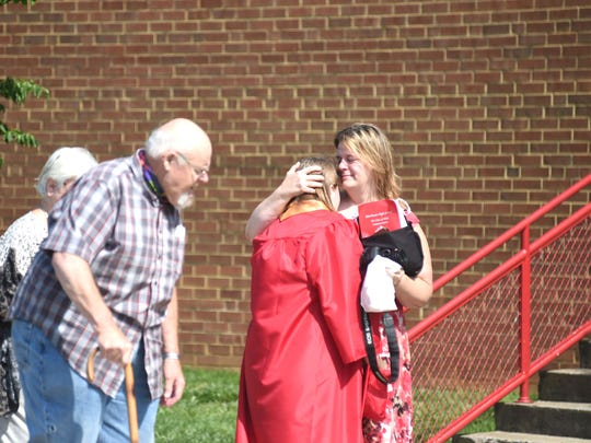Riverheads held day two of its alternative graduation at the high school Friday, June 5.