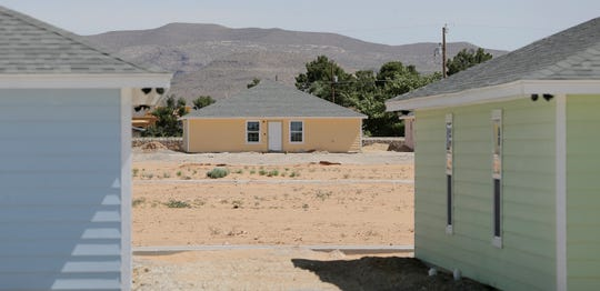 El Paso is home to four shelters for unaccompanied migrant children; a fifth, pictured here, is under construction in far east El Paso. When the 512-bed shelter is complete, the region will have 860 beds available for minors who cross the border alone and are transferred to the care of the Office of Refugee Resettlement.