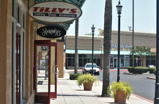 Some businesses at the Tulare Outlets have slowly started to reopen.