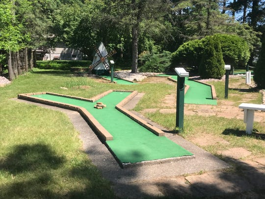 A look at the courses at White Sands Mini Golf