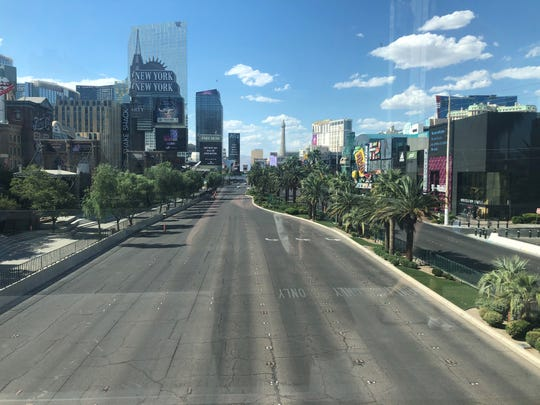 Las Vegas is slowly recovering after the coronavirus crisis, but the streets are still empty on official reopening day  June 4.