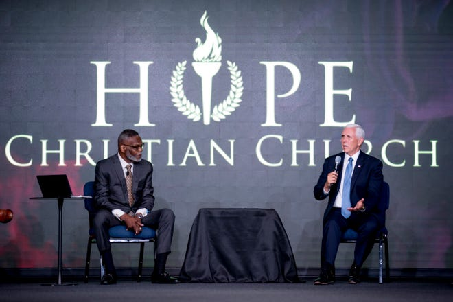 WATCH: Vice President Mike Pence Attends Listening Session Regarding George Floyd Response at Bishop Harry Jackson's Church