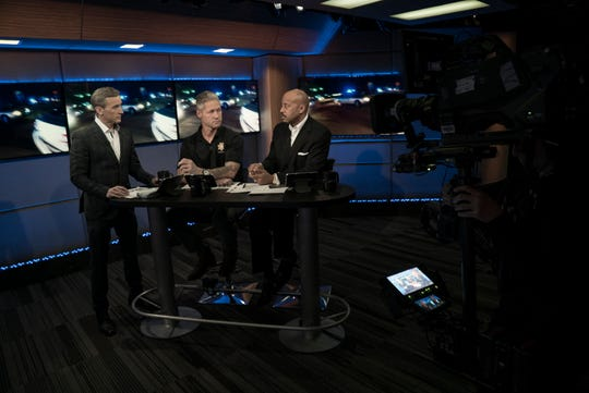 "'Live PD' host Dan Abrams speaks to analysts Sean ""Sticks"" Larkin Tom Morris Jr. on the A&E unscripted series."