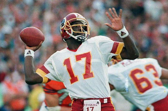 Doug Williams winning the Super Bowl with the Redskins was a big moment for USA TODAY Sports' Mike Jones.