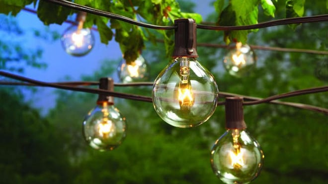 Make your backyard an oasis with some gorgeous outdoor lighting.