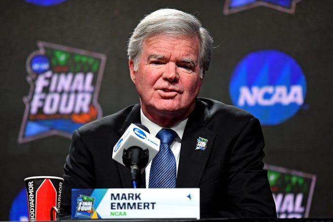 NCAA President Mark Emmert in April 2019.