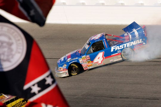 NASCAR has a checkered racial history, from a long-time affinity for Confederate flags among the fan base to a driver losing his job just this season for casually uttering a racial epitaph.