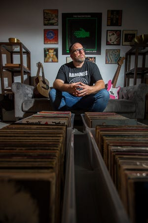 Jason Handy is the owner of Revolution Records in Cape Coral. The store offers patrons a large collection of vintage records, cassettes, compact discs and more.