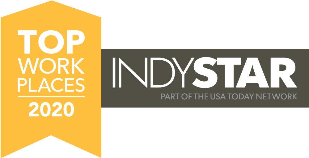 Top Workplaces Indianapolis 2020 Logo