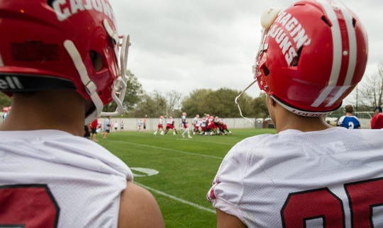 Ragin' Cajuns football players return Monday for voluntary workouts.