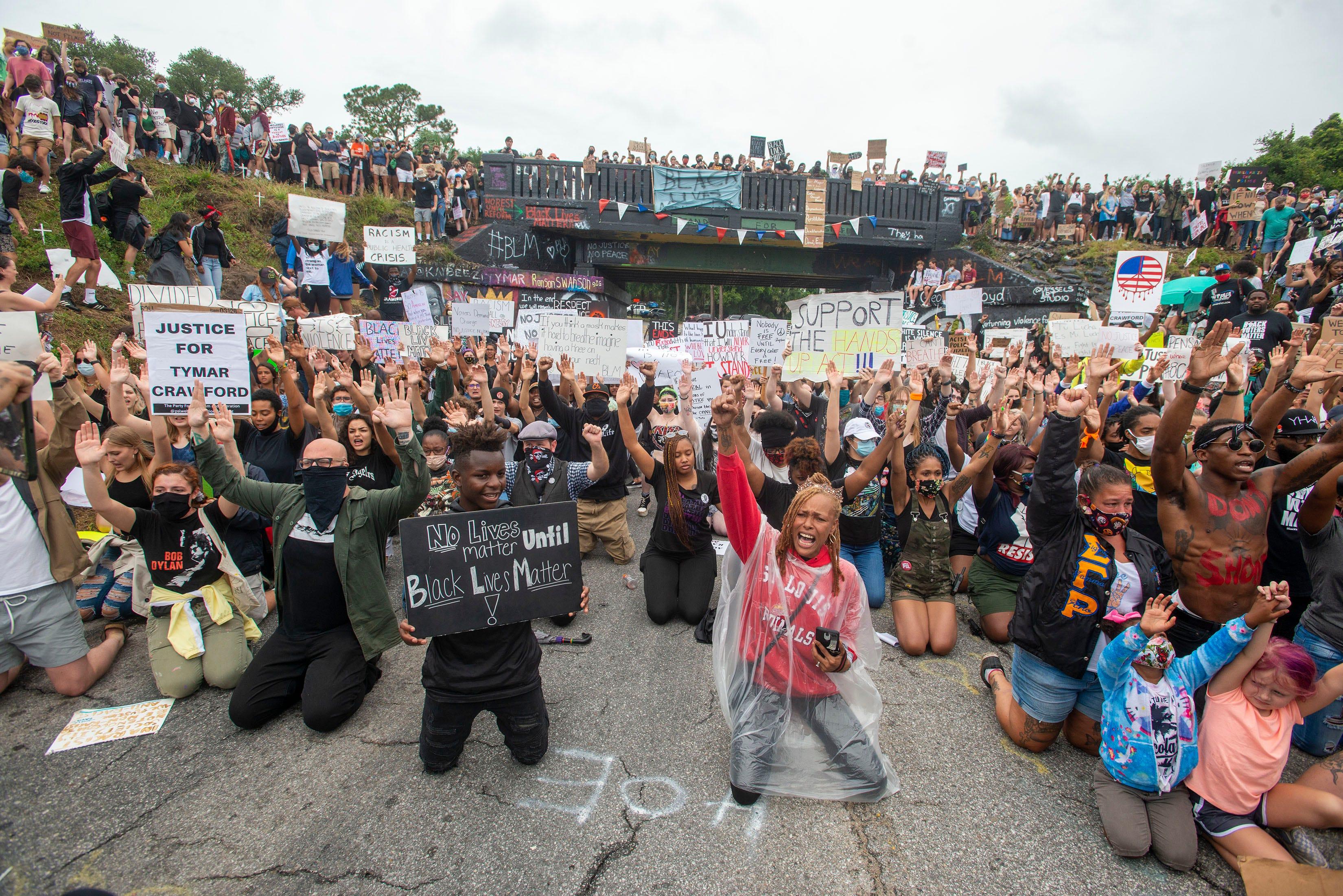 Activists across Florida condemn passage of Gov. Ron DeSantis' so-called anti-riot bill 2