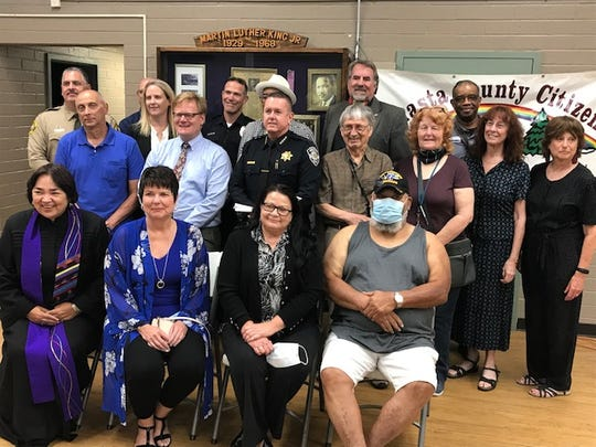 Shasta County leaders from law enforcement, politics, faith, education, nonprofits and social justice groups addressed the future of the community during a session at the Martin Luther King Jr. Center on Friday, June 5, 2020.