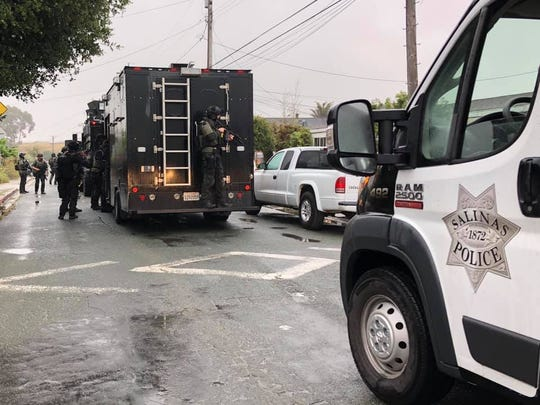 Salinas police arrested a man on suspicion of murder following a standoff June 5, 2020.