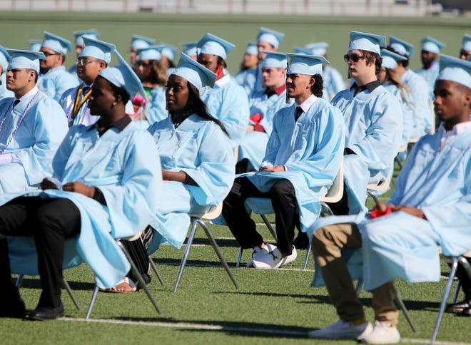 Hirschi High School seniors graduated Saturday, June 6, 2020, at Memorial Stadium.