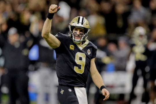 New Orleans Saints quarterback Drew Brees responded to President Trump's tweet with an Instagram post.
