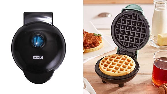 Best gifts under $25: Dash Mini Waffle Maker