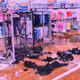 The sheriff's office released this photo of the damage at Walmart.