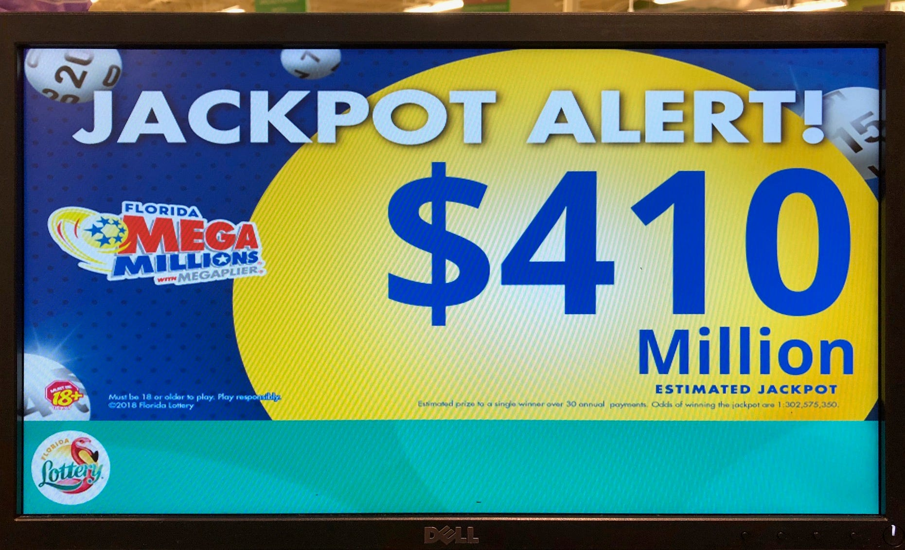Mega Millions Jackpot Eclipses 400m After Higher Numbers Prevail In Lottery