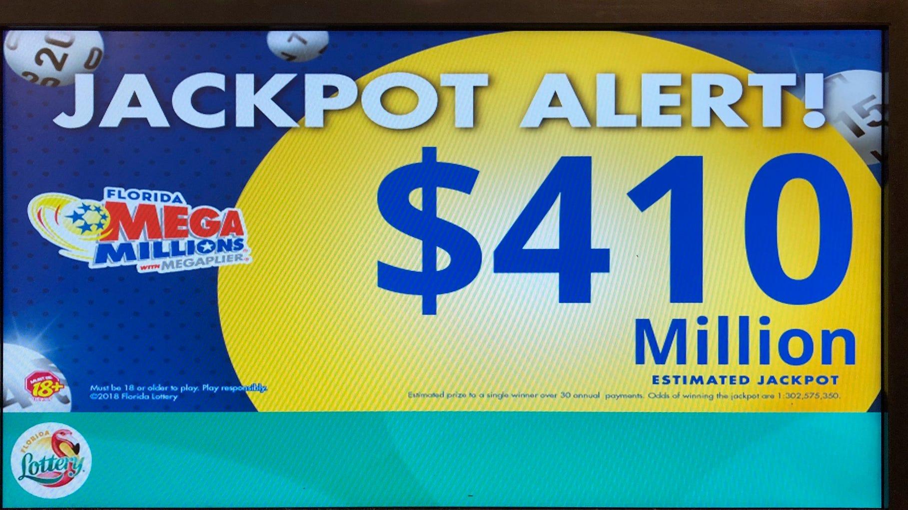 Mega Millions 410 Million Winning Ticket Sold In Arizona
