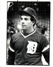 Former Tigers outfielder Steve Kemp