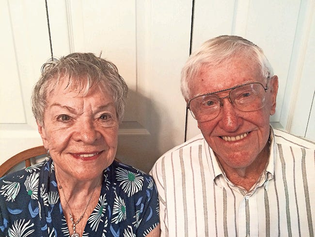 Herbert and Annette Fuson Anniversary