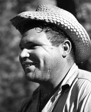 Affable Big Jim Maynard had a tremendous smile.