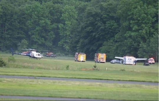 A plane crash at Wurtsboro Airport in the town left one man dead and another injured on Friday, June 5, 2020.
