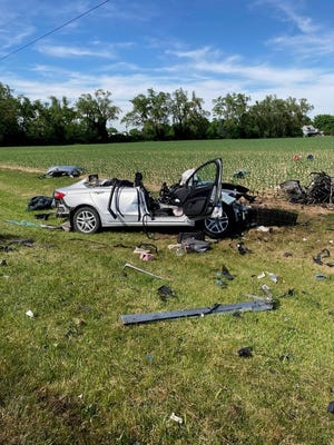 A two-car accident on Nine Mile Road in Union County killed four people on Sunday, June 7, 2020.