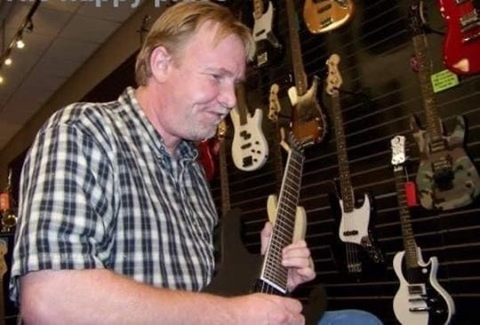 Dennis Ray Whitaker, killed in an Anderson County hit and run June 2, was an avid guitarist.