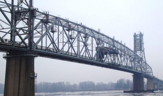 A file photo of the Burlington Bristol Bridge.