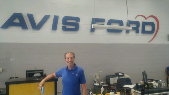 Larry Sirgany, service manager at Avis Ford in Southfield, has seen an increase in engine damage caused by rodents during the stay-home period amid the coronavirus pandemic.