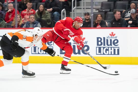 Red WIngs defenseman Trevor Daley is one of seven active and retired NHL players who Monday announced the formation of The Hockey Diversity Alliance (HDA), aiming to eliminate racism and intolerance in the sport.