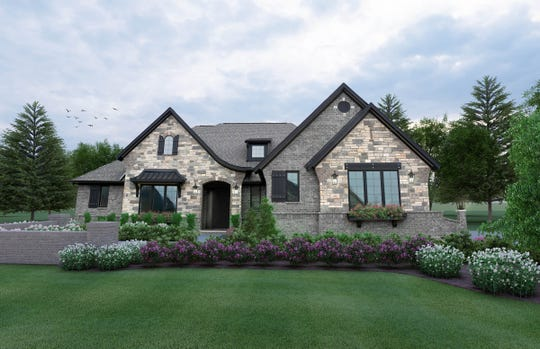 The Lisa Ranch in Northville by Compos Builders is one of the 60 homes on this year's Parade of Homes by the Home Builders Associations of Southeastern Michigan.