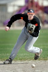 DJ LeMahieu practices for Birmingham Brother Rice in 2007.