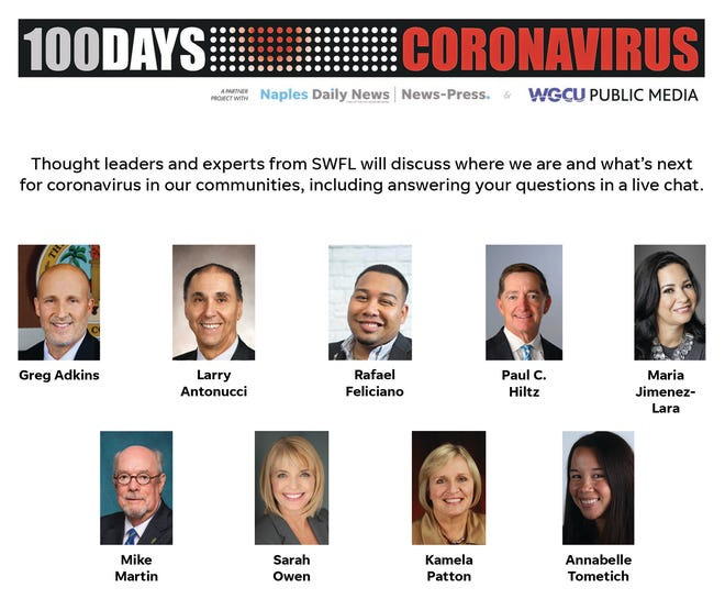 100 Days of Coronavirus Town Hall participants.