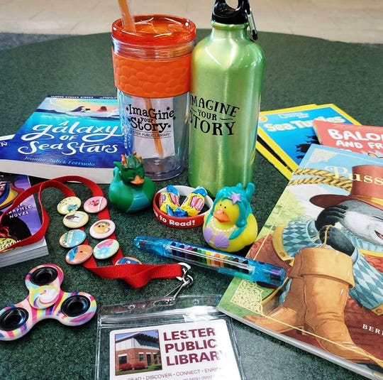 Lester Public Library in Two Rivers is ready to launch its Summer Reading Program.
