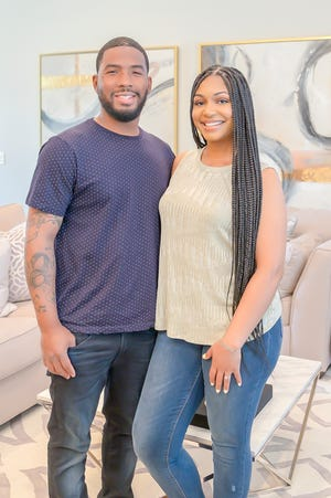 Cortney Dates and Raven Tate love their new home.