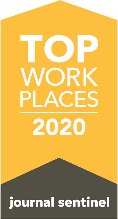 Top Workplaces Milwaukee 2020 Logo