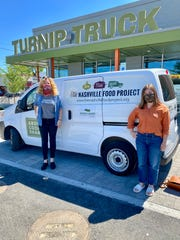 The Turnip Truck grocery store in West Nashville donated a van full of fresh produce to The Nashville Food Project on June 1.