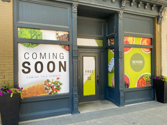 Beyond Juicery + Eatery is coming to 405 N. Main St. in downtown Milford in the former Up Town Threads location.