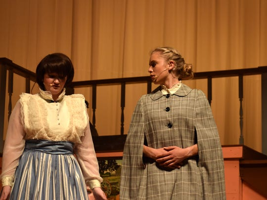 "Annika Fisher has been in several plays, including ""Little Women,"" since she started acting."