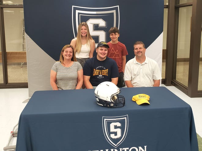 Staunton's Bubba Miller is headed to Emory & Henry to play football in the fall.