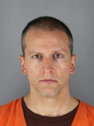 FILE - This May 31, 2020 photo provided by the Hennepin County Sheriff shows former Minneapolis police officer Derek Chauvin, who was arrested Friday, May 29, in the Memorial Day death of George Floyd. Prosecutors are charging Chauvin, accused of pressing his knee against Floyd's neck, with second-degree murder, and for the first time will level charges against three other officers at the scene, a newspaper reported Wednesday, June 3, 2020. (Hennepin County Sheriff via AP, File)