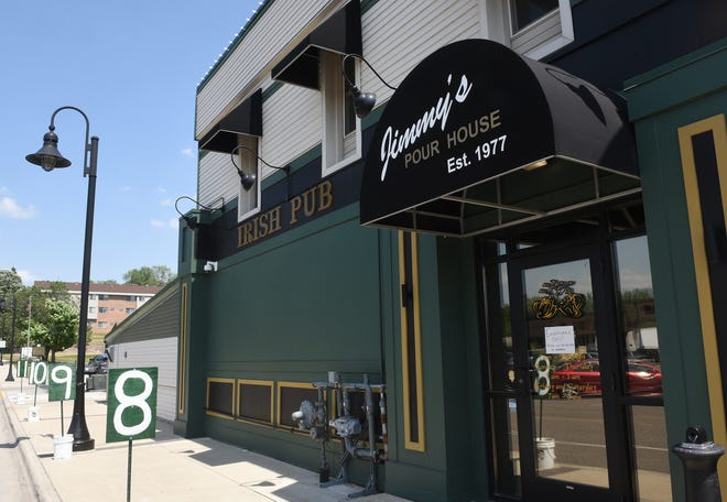 Jimmy's Pour House is pictured Monday, June 8, 2020, in Sauk Rapids.