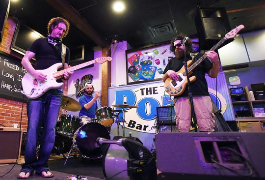 Lower Case Blues performs at The Pond in Rehoboth Beach Friday night.