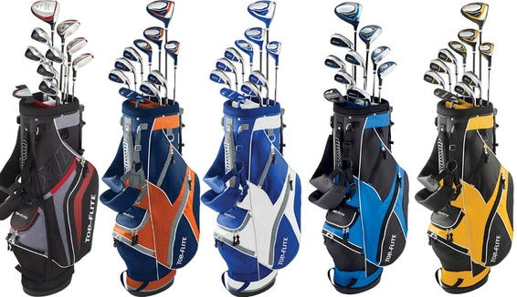 Any beginner golfer is going to love this set.