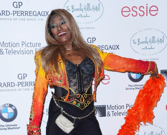 Bonnie Pointer, pictured here in Beverly Hills, California in 2012, was a founding member of the Pointer Sisters. She died June 8 at her home in Los Angeles of cardiac arrest.