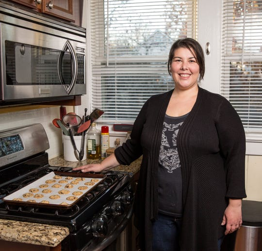 Martha Rabello of Fanwood, a member of the New Jersey Home Bakers Association, is pushing the state to allow bakers to sell home-baked goods.